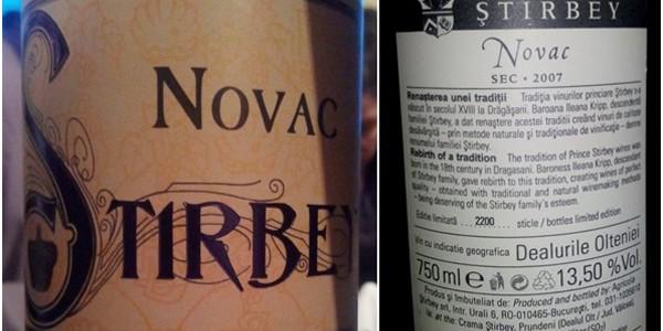 Novac, unul dintre cele mai valoroase soiuri noi de vin