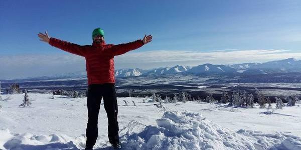 Tiberiu Uşeriu, câştigătorul maratonului de la Polul Nord, a revenit în ţară