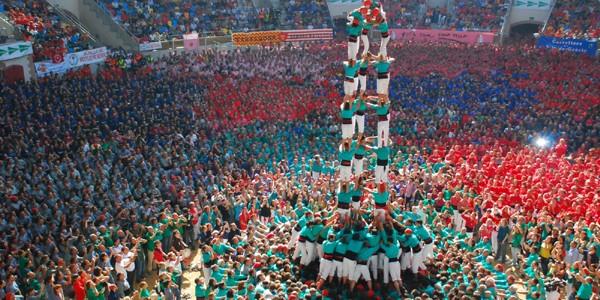 """Turnurile umane"" din Spania"
