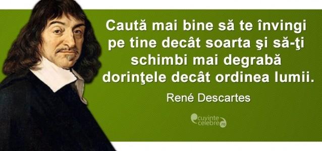 Rene Descartes, întemeietorul filosofiei moderne
