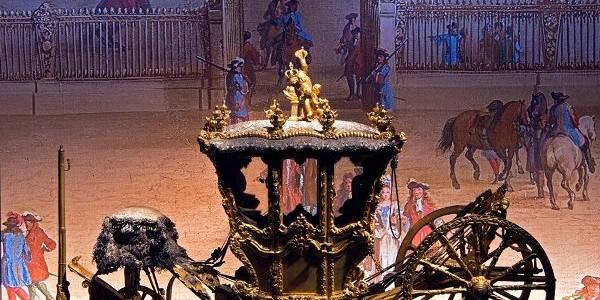 Galeria Trăsurilor de la Palatul Versailles