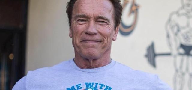 Fricosul! Arnold Schwarzenegger se teme… de un elefant