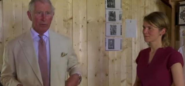 Prinţul Charles a paricipat la inaugurarea Centrului meşteşugăresc de la Viscri (video)