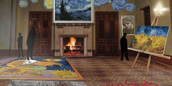 """""""MOVING van GOGH"""": Holograma pictorului Vincent van Gogh într-o expoziţie interactivă"""