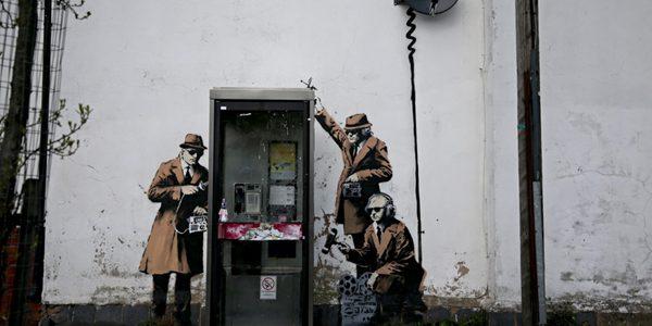 """Dorel din Anglia"" a distrus un graffiti de 1,15 milioane de euro"
