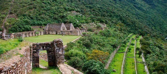 """Choquequirao, """"sora"""" puţin cunoscută a Machu Picchu"""