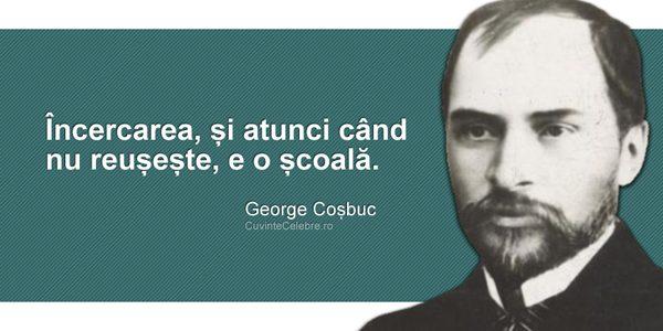 """George Coşbuc, """"unul dintre cei mai marcanţi promotori ai elegiei civice din lirica românească"""""""
