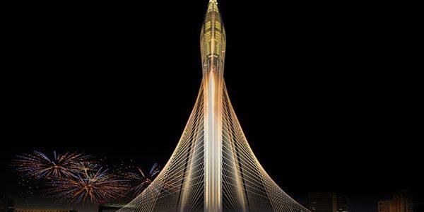 A început contrucţia celui mai înalt turn