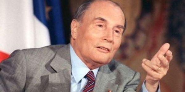 François Mitterrand, primul preşedinte socialist al Republicii Franceze
