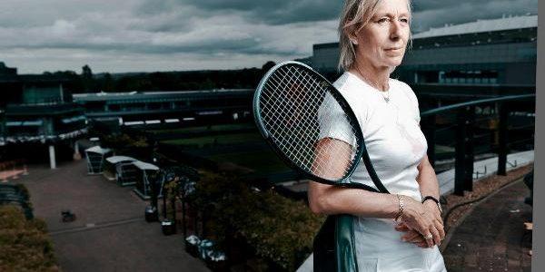 Martina Navratilova, legendă a sportului alb